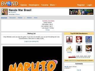 Screenshot of Naruto War Brasil