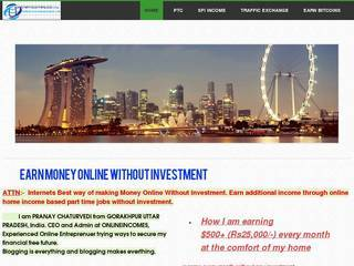 Screenshot of ONLINE HOME BASIC JOB WITHOUT INVESTEMENT STUDENT JOB