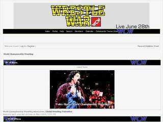 Screenshot of World Championship Wrestling
