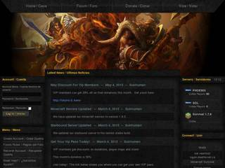 Screenshot of Deathknell Gaming Servers
