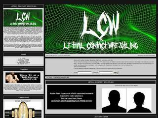 Screenshot of Lethal Contact Wrestling