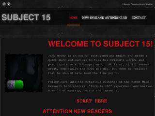Screenshot of Subject 15