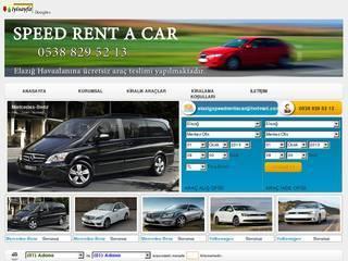 Screenshot of Elazığ Speed Rent A Car, Elazığ Oto Kiralama, Elazığ Kiralık Oto