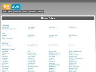 Screenshot of BestGames200