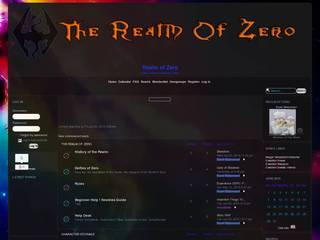 Screenshot of Realm of Zero