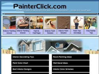 Screenshot of PainterClick.com