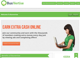 Screenshot of Buxvertise - Earn Extra Cash Online