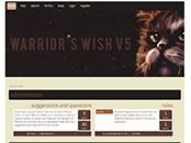 Screenshot of Warrior's Wish v5