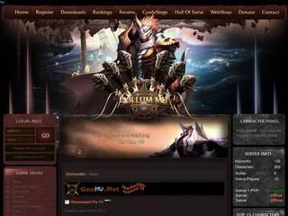 Screenshot of ExillumMuonline
