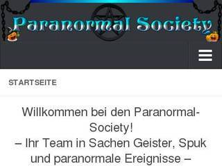 Screenshot of Paranormal-Society