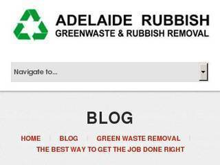Screenshot of Green Waste Removal Adelaide