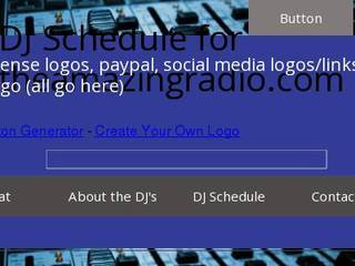 Screenshot of theamazingradio