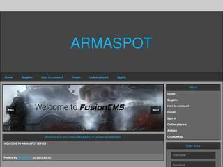 Screenshot of ARMASPOT