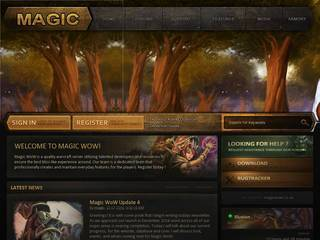 Screenshot of Magic WoW PVE 1.12.1