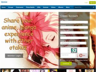 Screenshot of Qoutas