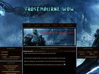 Screenshot of Frostmourne-WOW