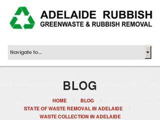 Screenshot of Waste Collection Adelaide