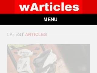 Screenshot of wArticles