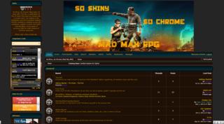 Screenshot of So Shiny, So Chrome (Mad Max RPG)