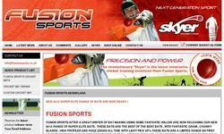 Screenshot of Fusion Sports