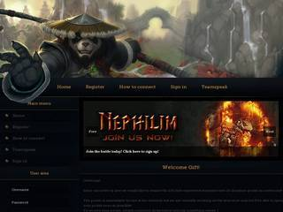 Screenshot of NephilimWoW | TBC | 2.4.3 | 4 Realms