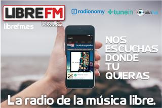 Screenshot of Libre FM