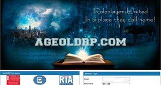 Screenshot of AgeOldRP