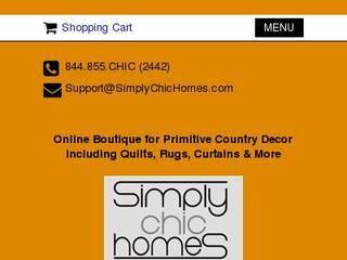Screenshot of Simply Chic Homes, LLC