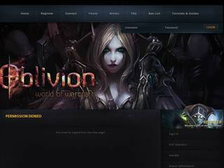 Screenshot of OblivionWoW - 255 - TRANSMOG - 335a