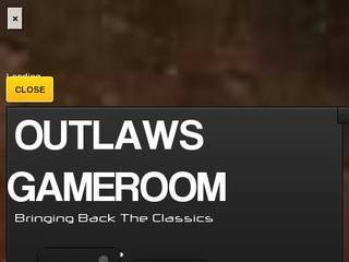 Screenshot of Outlaws Gameroom