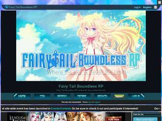Screenshot of Fairy Tail Boundless RP