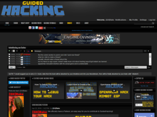 Screenshot of GuidedHacking Learn How To Hack