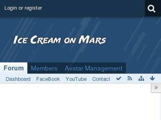Screenshot of Ice Cream on Mars