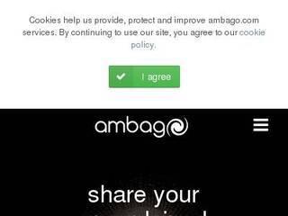 Screenshot of ambago.com