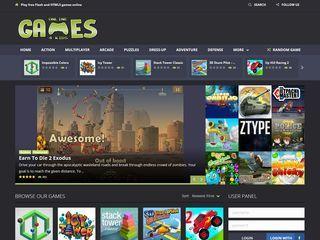 Screenshot of Online Games 4 Kids