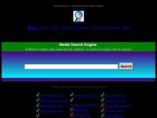 Screenshot of FInd Media