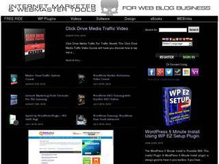 Screenshot of Internet Marketer and Webmaster Tools  For WEB Blog Business