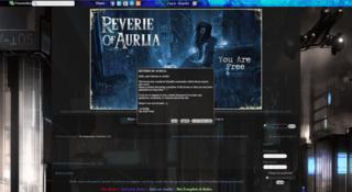 Screenshot of Reverie of Aurlia