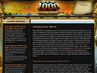 Screenshot of New1000AD