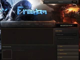 Screenshot of Freedom WoW