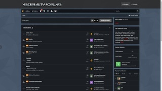 Screenshot of Viscereality Forums
