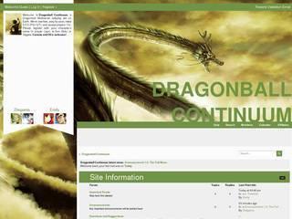 Screenshot of Dragonball Continuum