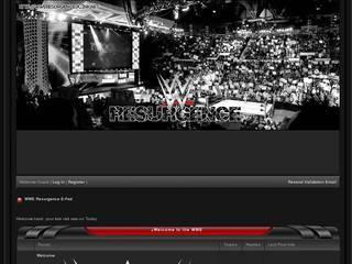 Screenshot of WWE Resurgence