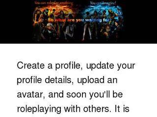 Screenshot of Roleplay Social