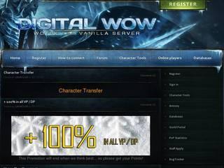Screenshot of WOTLK TBC Classic Vanilla server