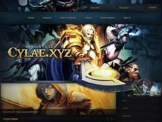 Screenshot of Cylae.xyz - Vanilla (1.12) - Classic