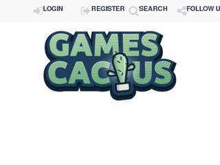 Screenshot of GamesCactus