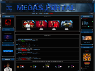 Screenshot of Mega's Portal