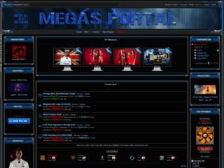Screenshot of Mega's Portal
