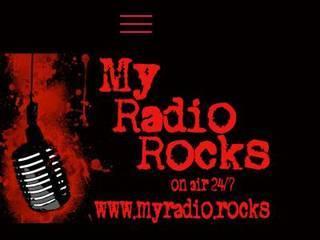 Screenshot of My Radio Rocks